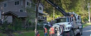 Un deslizamiento de tierra provoca una fuga de gas en Auburn