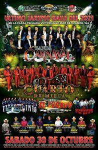 Read more about the article te esperamos en el ultimo jaripeo baile del año en plaza mexico de monroe wa con banda carnaval